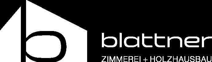 Blattner Logo Weiß