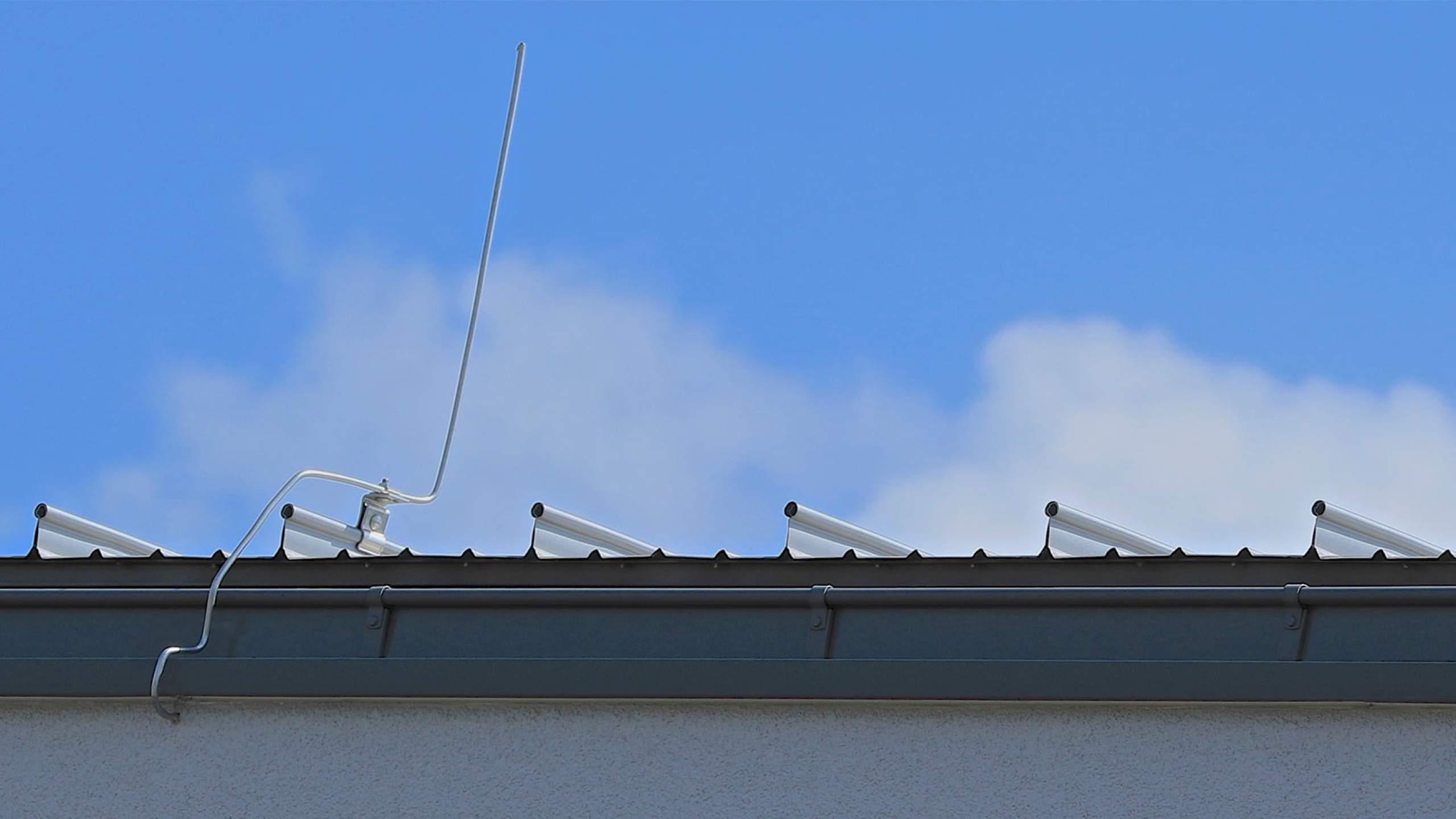 Zimmererarbeiten Detailansicht Dach