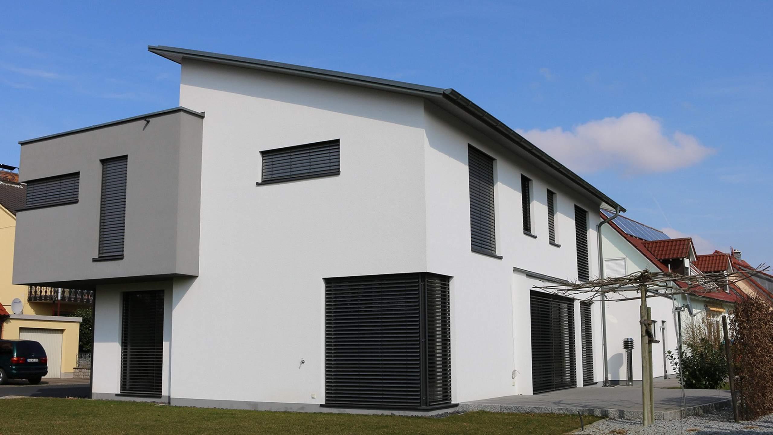 Einfamilienwohnhaus Modern Terrasse